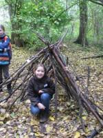 Land Art Hütte