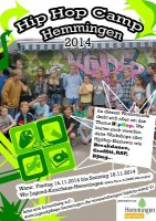 hiphopcamp 2014 PLakat